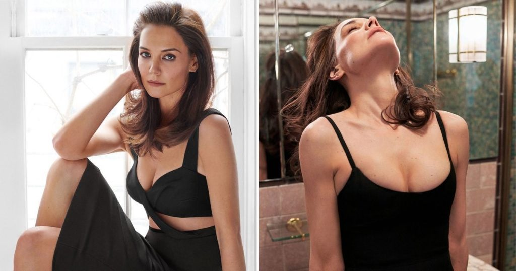 Image result for kATIE HOLMES insight shoot